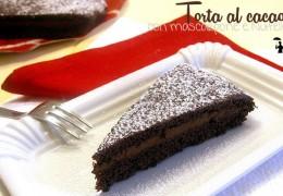 Torta al cacao con mascarpone e nutella – Ricetta senza uova