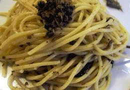 Spaghetti al tartufo estivo – Scorzone