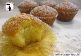 Tortine allo yogurt (ricetta plumcake)