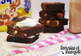 Brownies al Nesquik