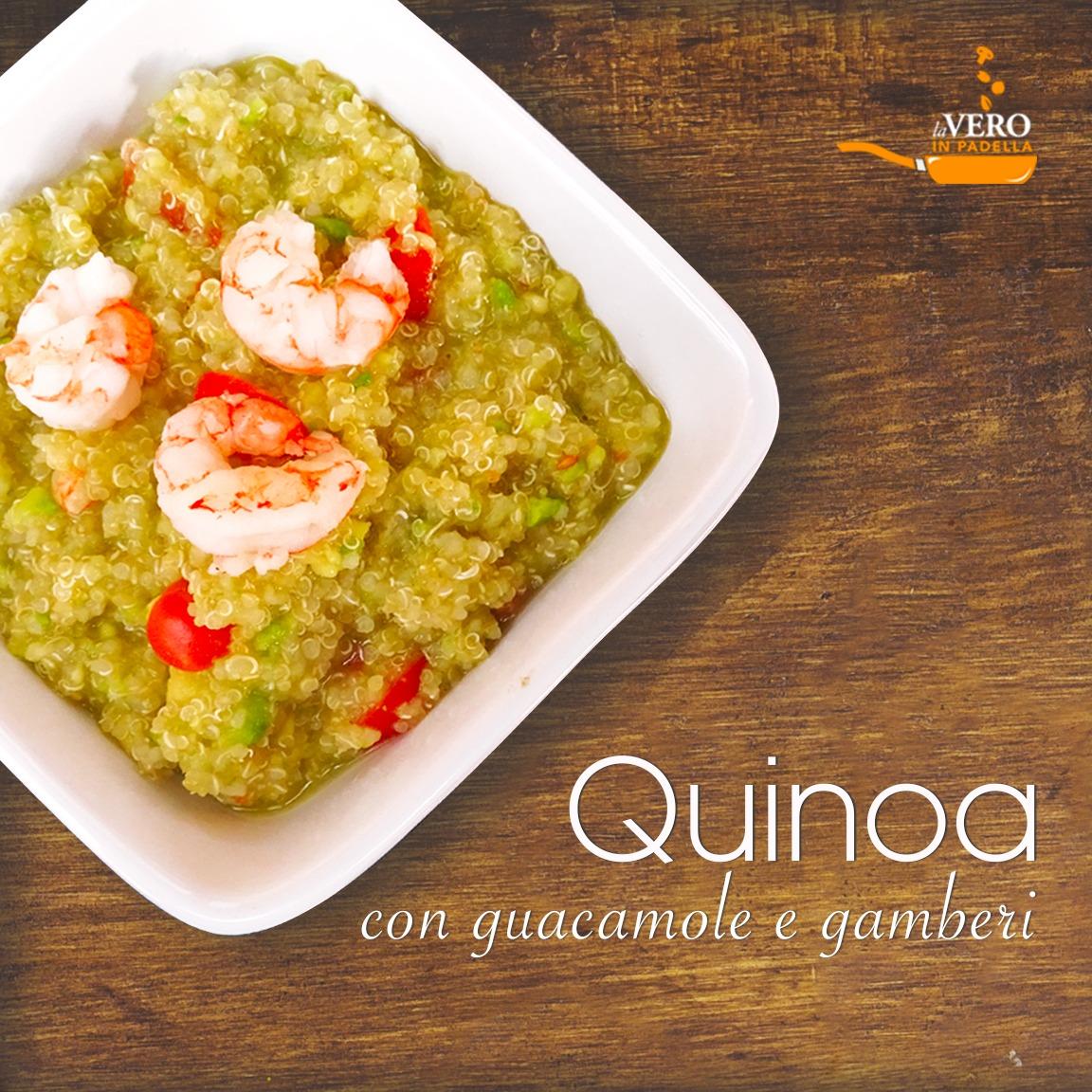Ricetta Guacamole E Gamberi.Quinoa Con Guacamole E Gamberi Laveroinpadella