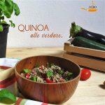 Quinoa tricolore con verdure