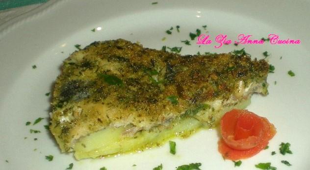 Tortino di sardine al profumo di finocchietto selvatico e zenzero
