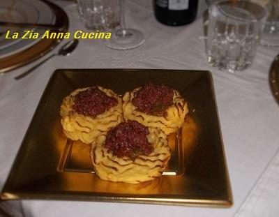 canestrelli di patate con cotechino e lenticchie (7)