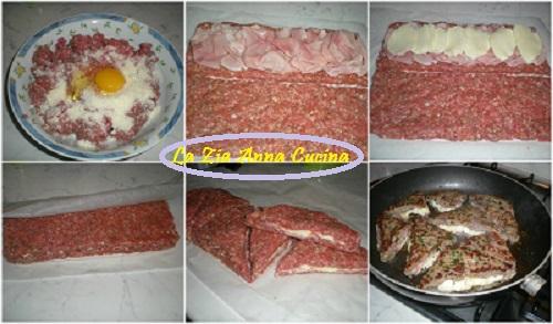 hamburger tramezzino collage