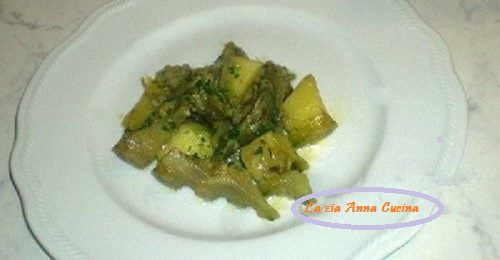 Spezzatino di carciofi e patate