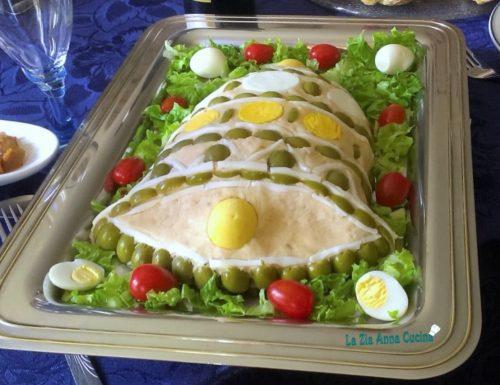 Campana in paté di tonno e patate