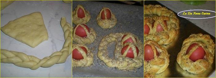 pane di Pasqua Collage
