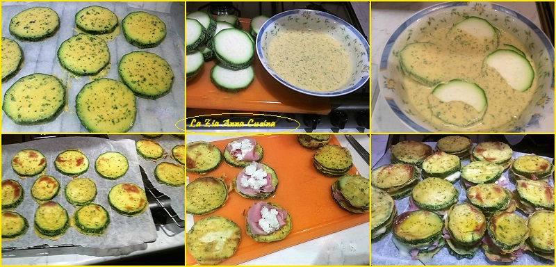 cordon blue di zucchine Collage