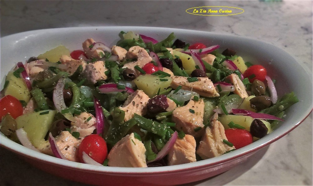 insalata di salmone e fagiolini (3)