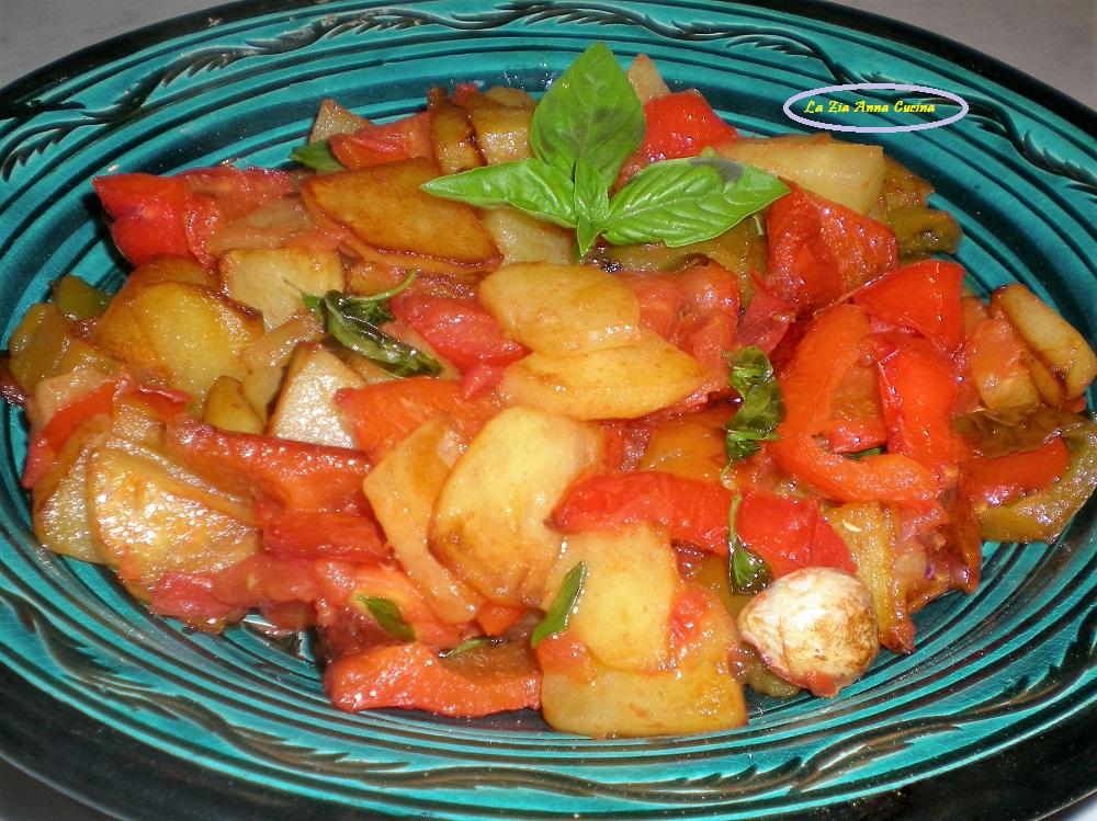 Alici in padella con aglio olio e limone - La Zia Anna Cucina