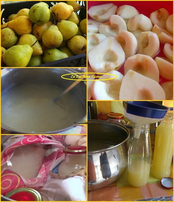 succo di frutta alle pere Collage