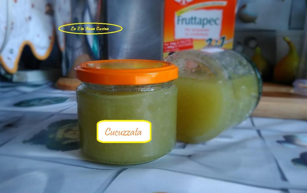 cucuzzata siciliana (marmellata di zucchine lunghe)