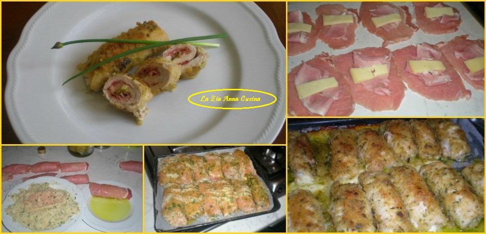 involtini di lonza al forno con prosciutto e formaggio (2)