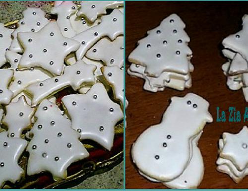 Biscotti natalizi di pasta frolla