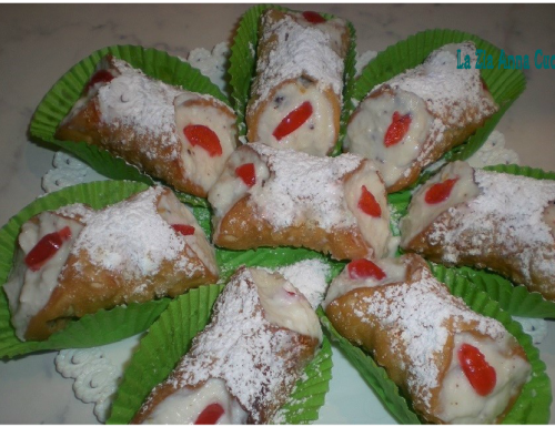 Cannoli siciliani mignon