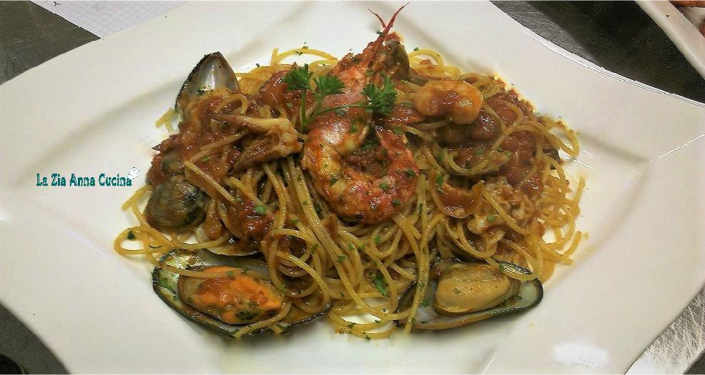 Spaghetti alla pescatora