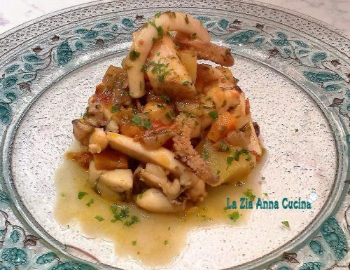 Spezzatino di seppia con patate