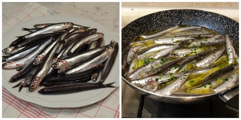 Ricette pesce alici in tegame