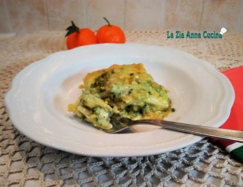 Lasagne ricce con ragù di zucchine e gamberi Monsieur C.P.