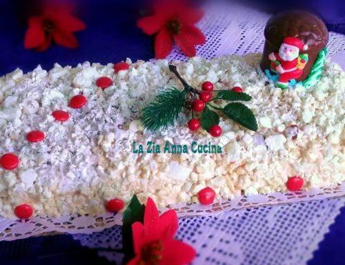 Meringata natalizia con crema di mascarpone e torrone