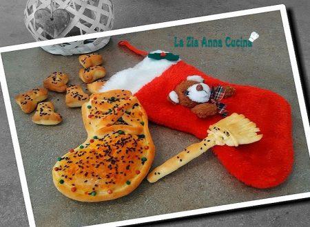 Calza della befana in pan brioche