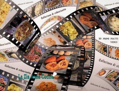 10 primi piatti video raccontati