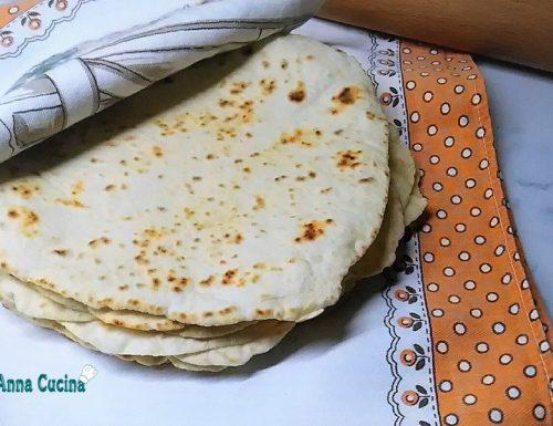 Tortillas messicane di grano tenero