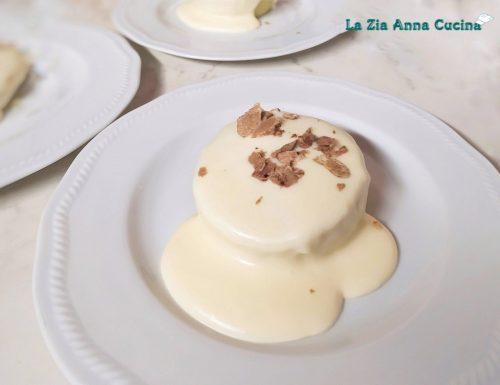 Flan di porri con fonduta e tartufo bianco d'Alba