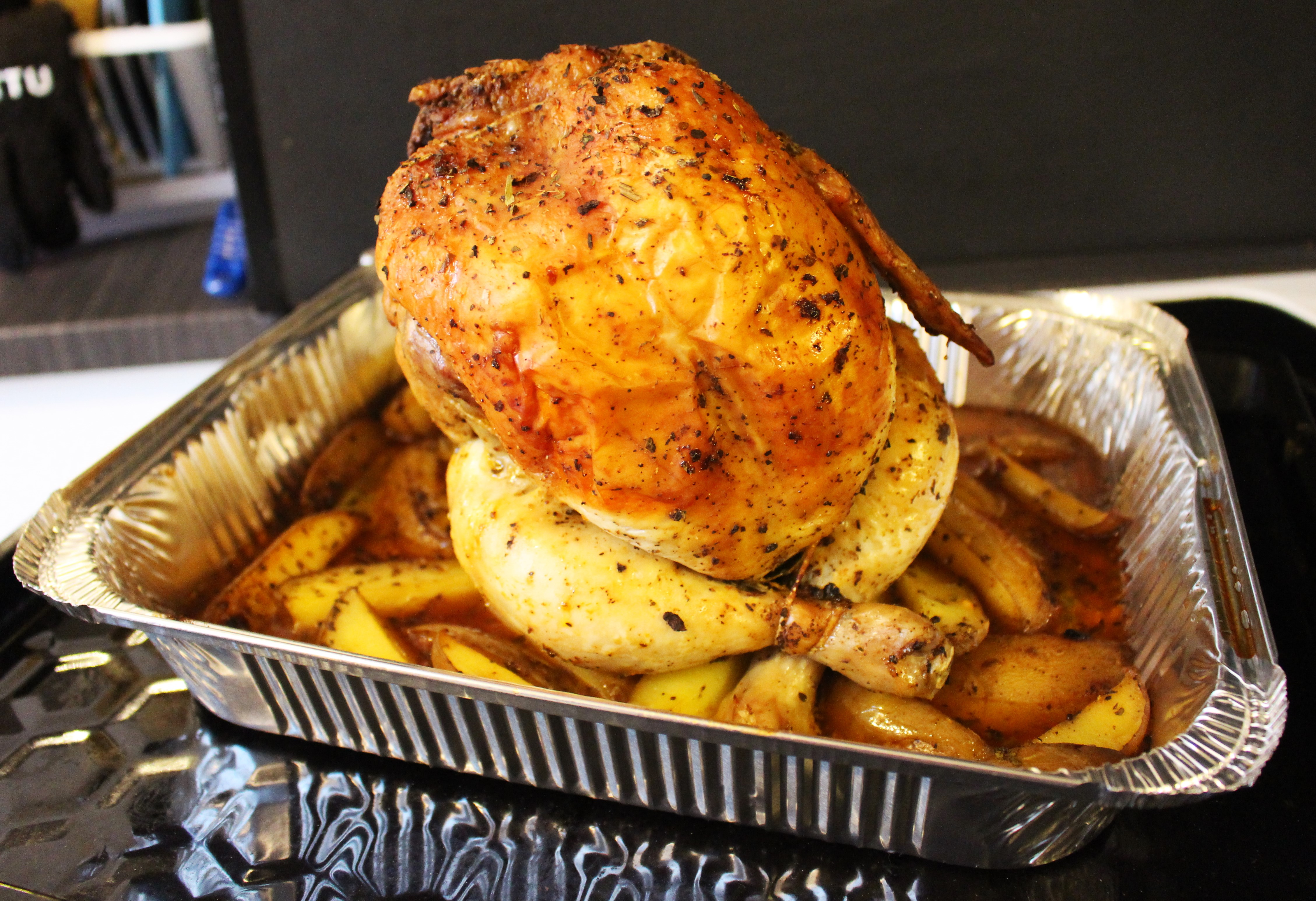 Beerbutt Chicken / Pollo alla Birra al forno