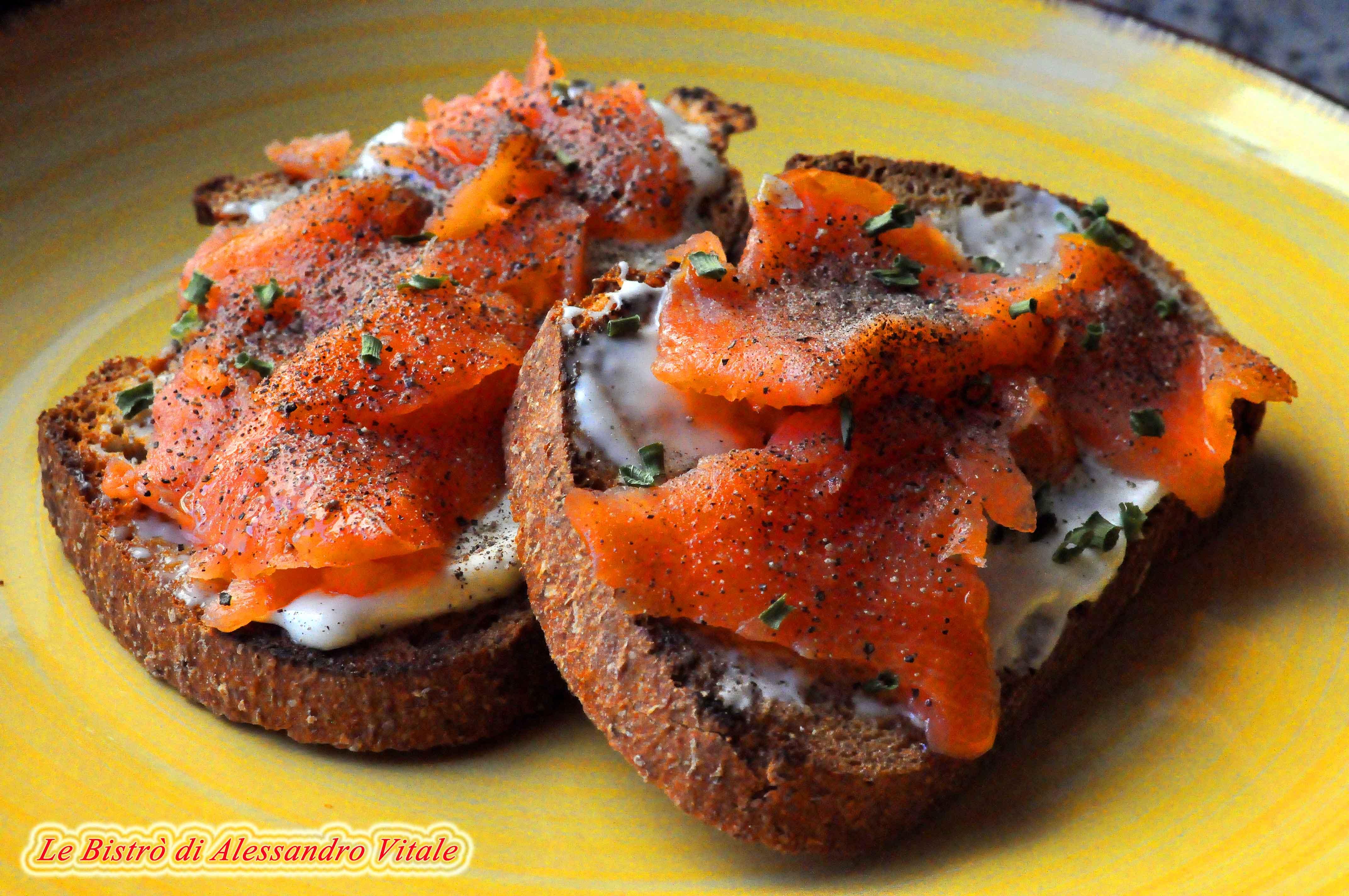 Ricerca ricette con crostini di salmone affumicato for Salmone ricette