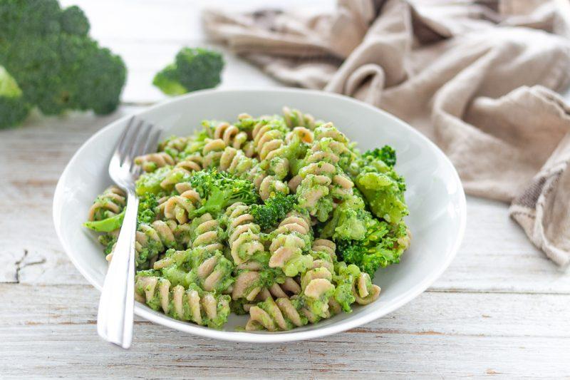 Pasta integrale con i broccoli