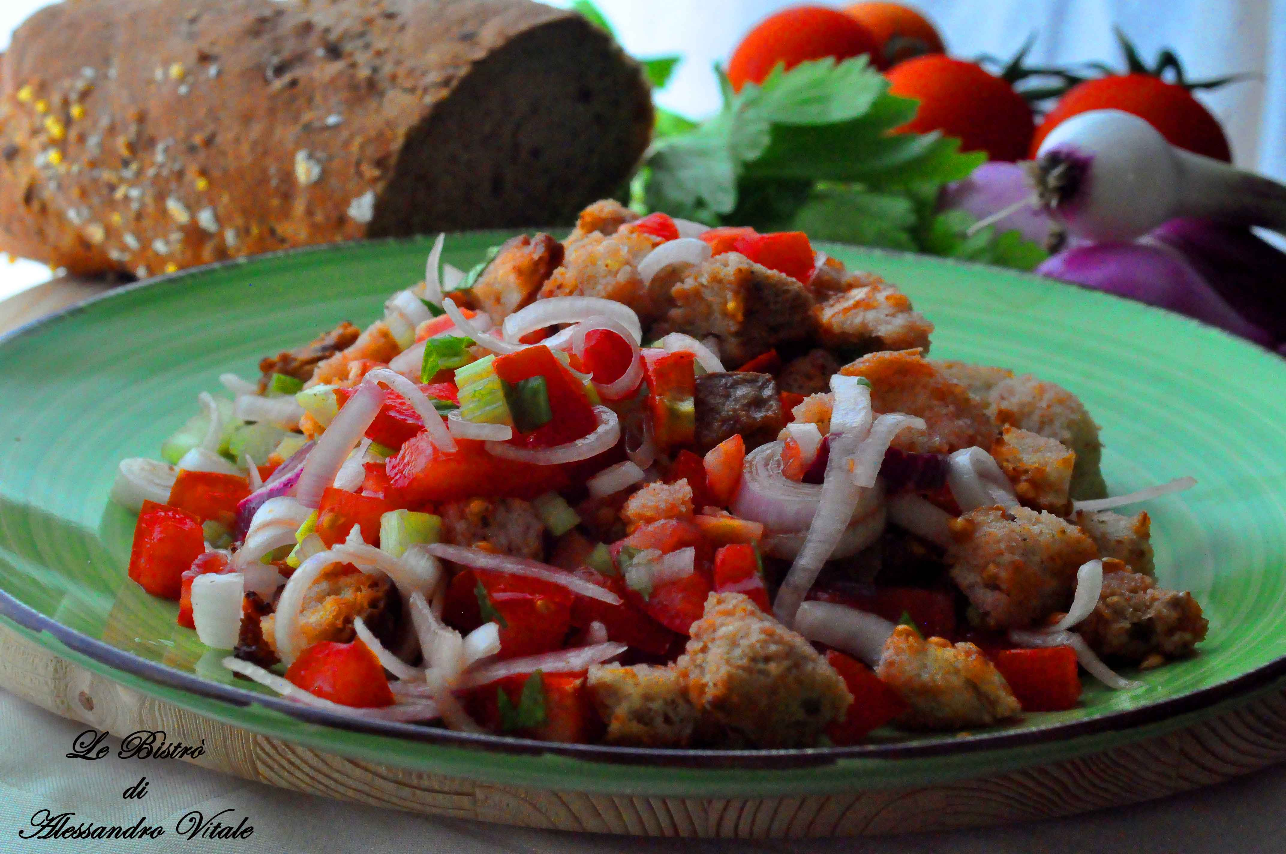 Panzanella recipes dishmaps Barefoot contessa panzanella