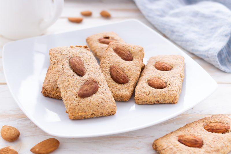 Biscotti alla frolla di mandorle