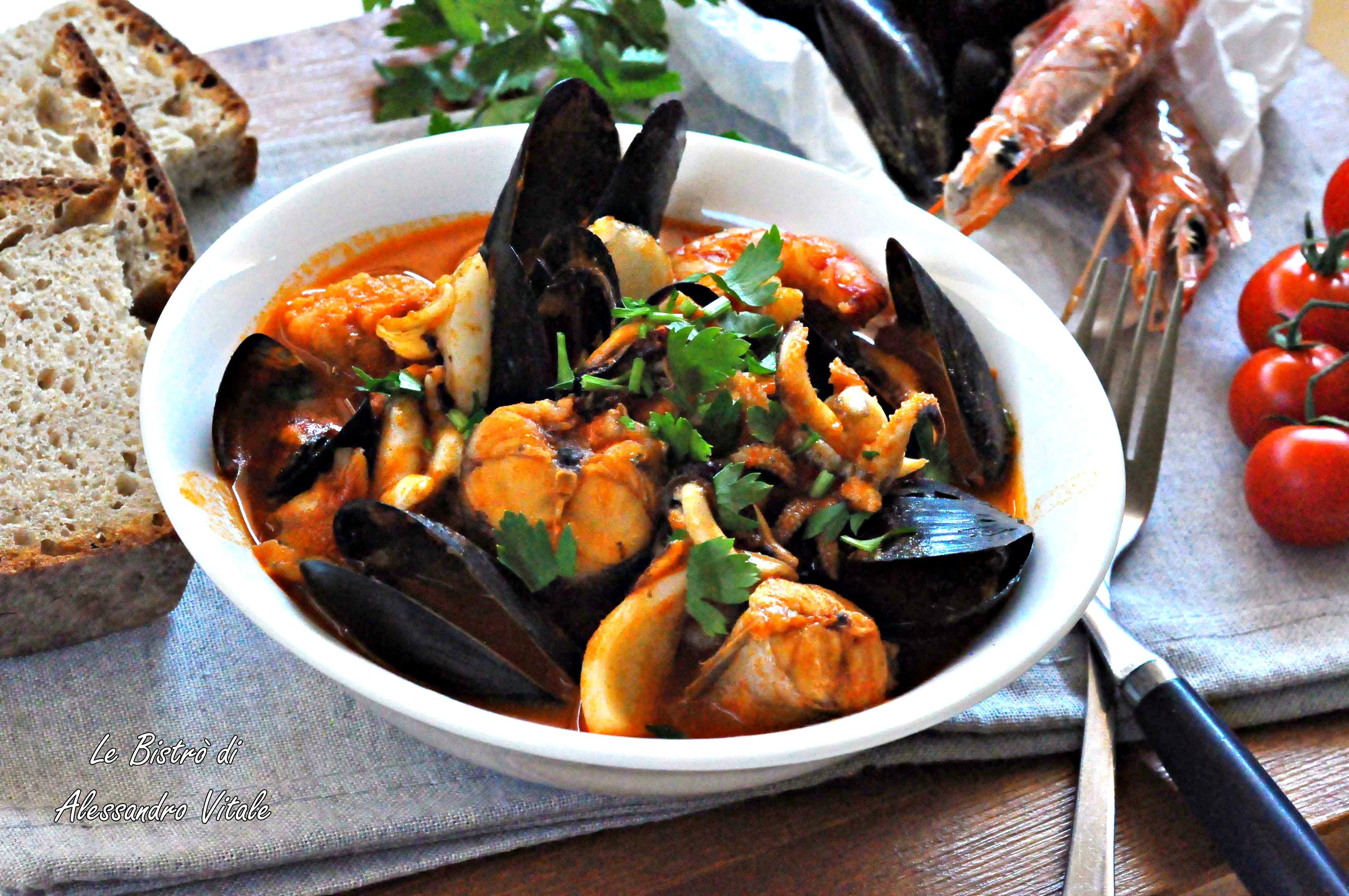 Zuppa di pesce secondo piatto for Cucina italiana pesce
