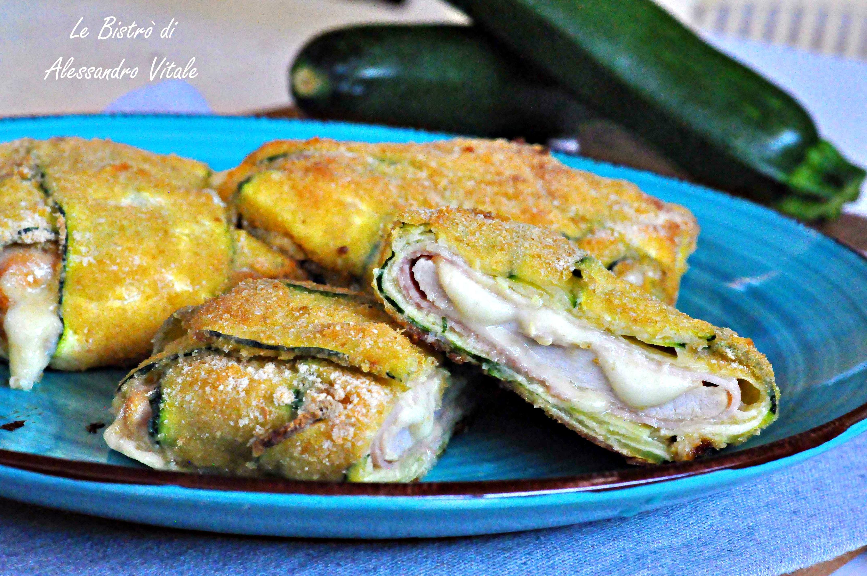 Involtini di pollo e zucchine, secondo piatto