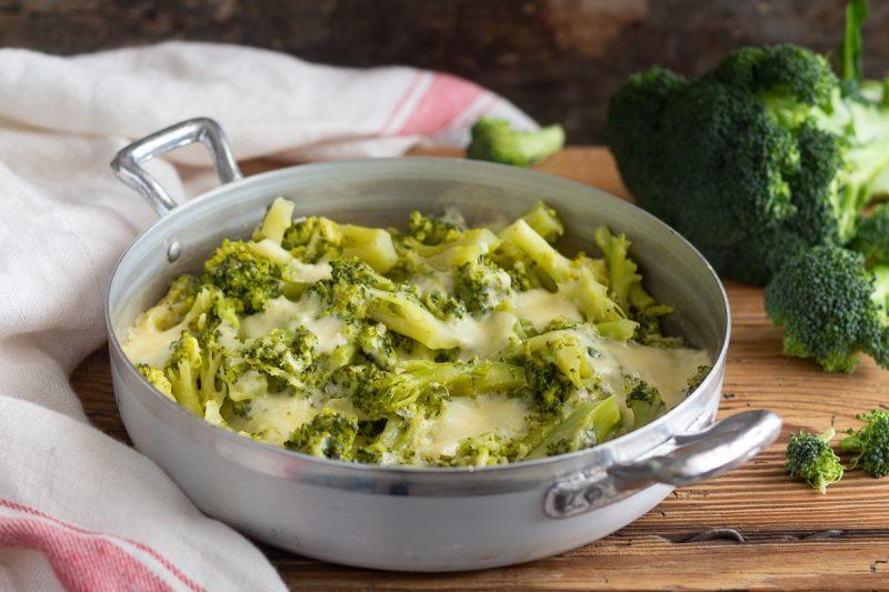 Broccoli alla fontina
