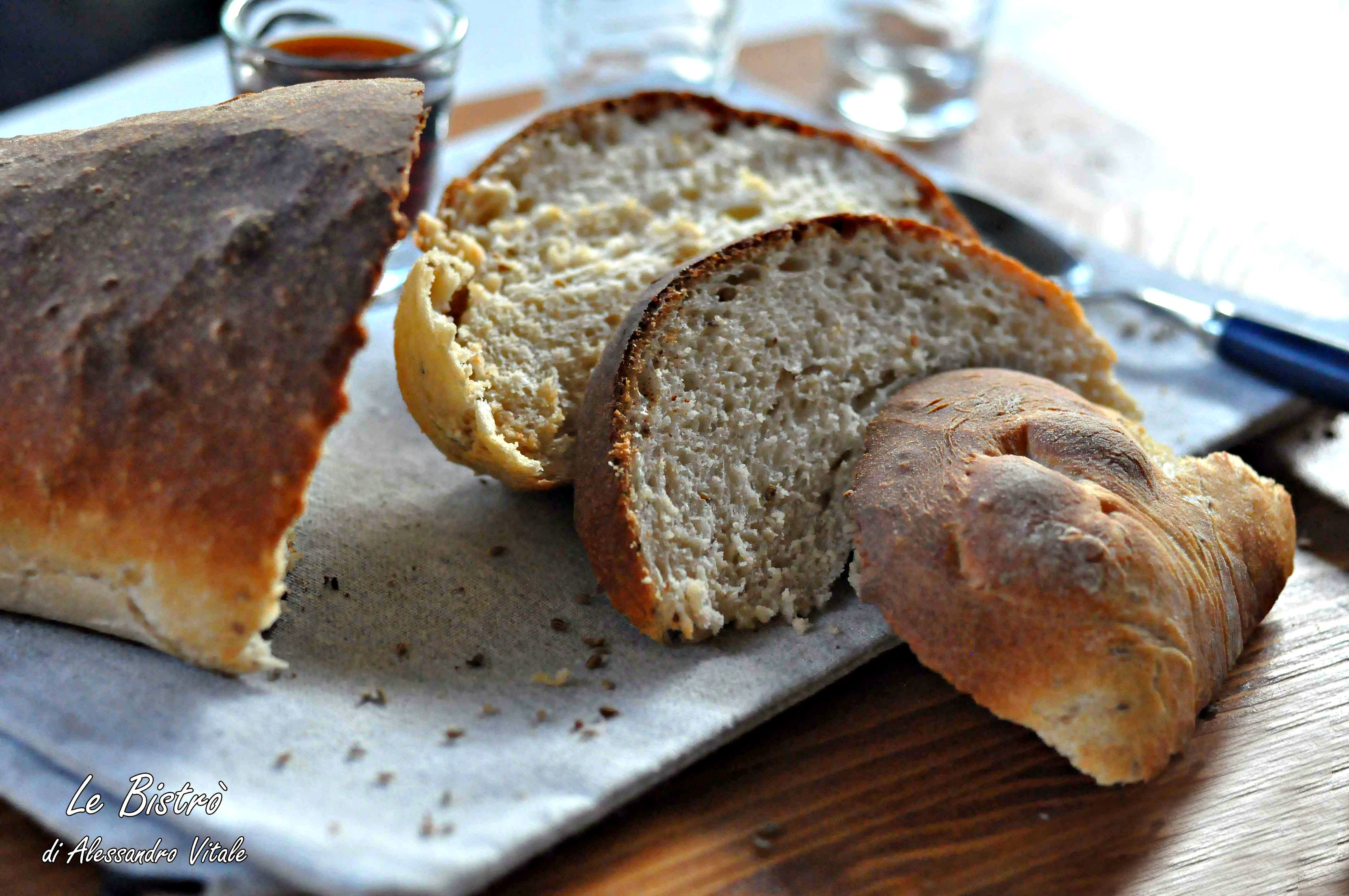 Pane al mosto d'uva, ricetta regionale