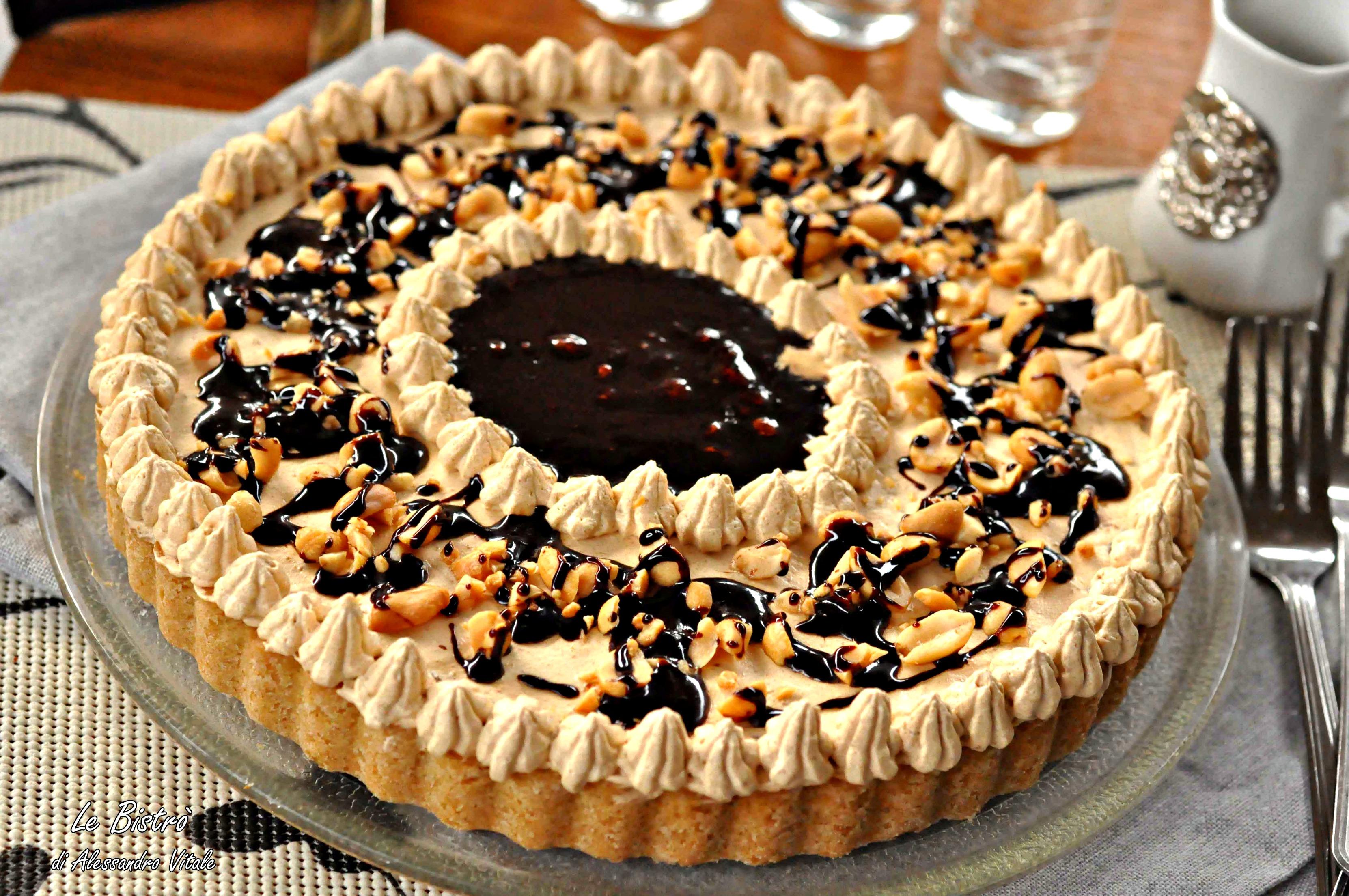 Célèbre Torta al burro di arachidi, mou e cioccolato, ricetta dolce GA27