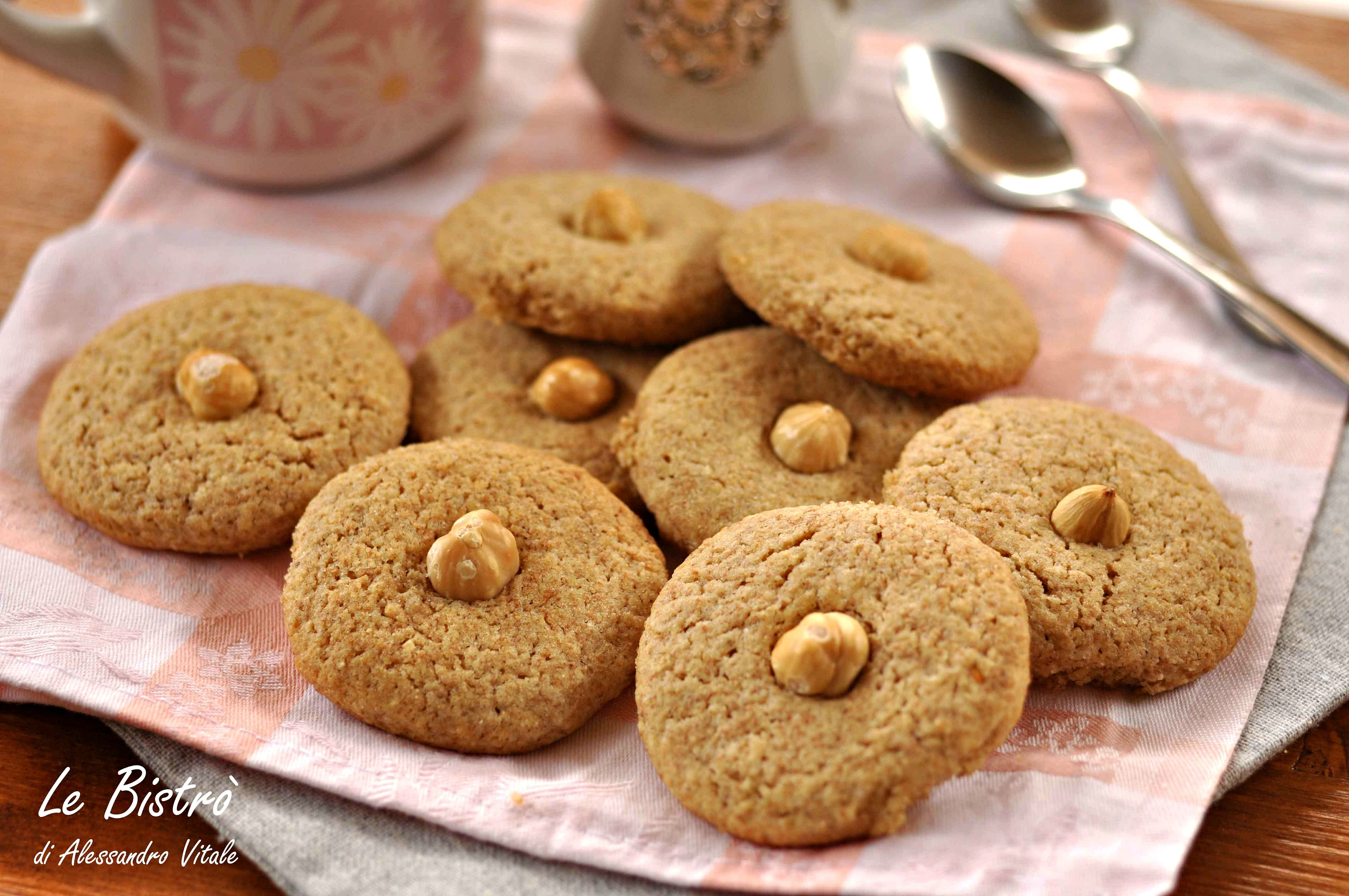 Biscotti Integrali e Nocciole