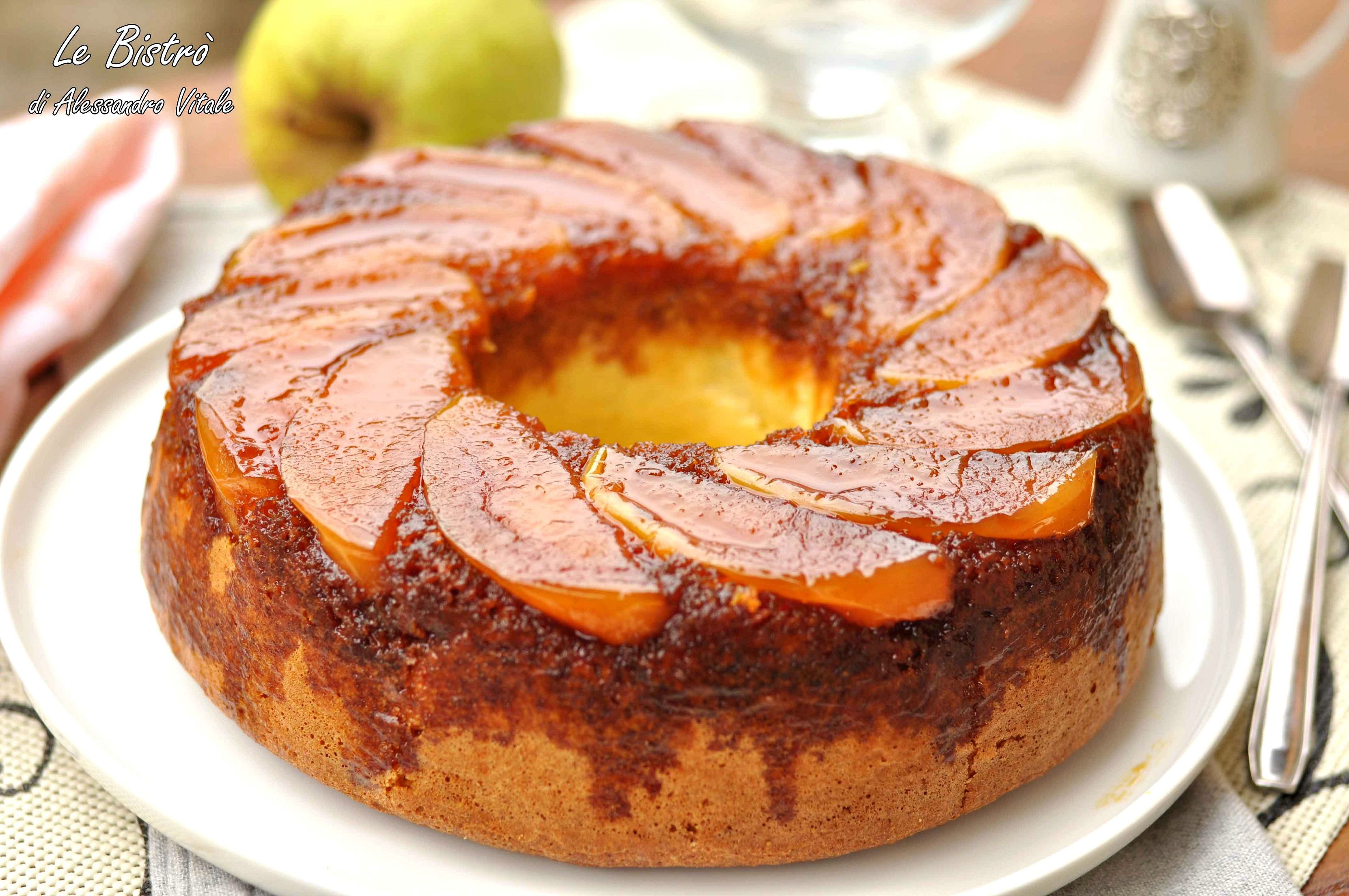 Torta di mele rovesciata, ricetta furba