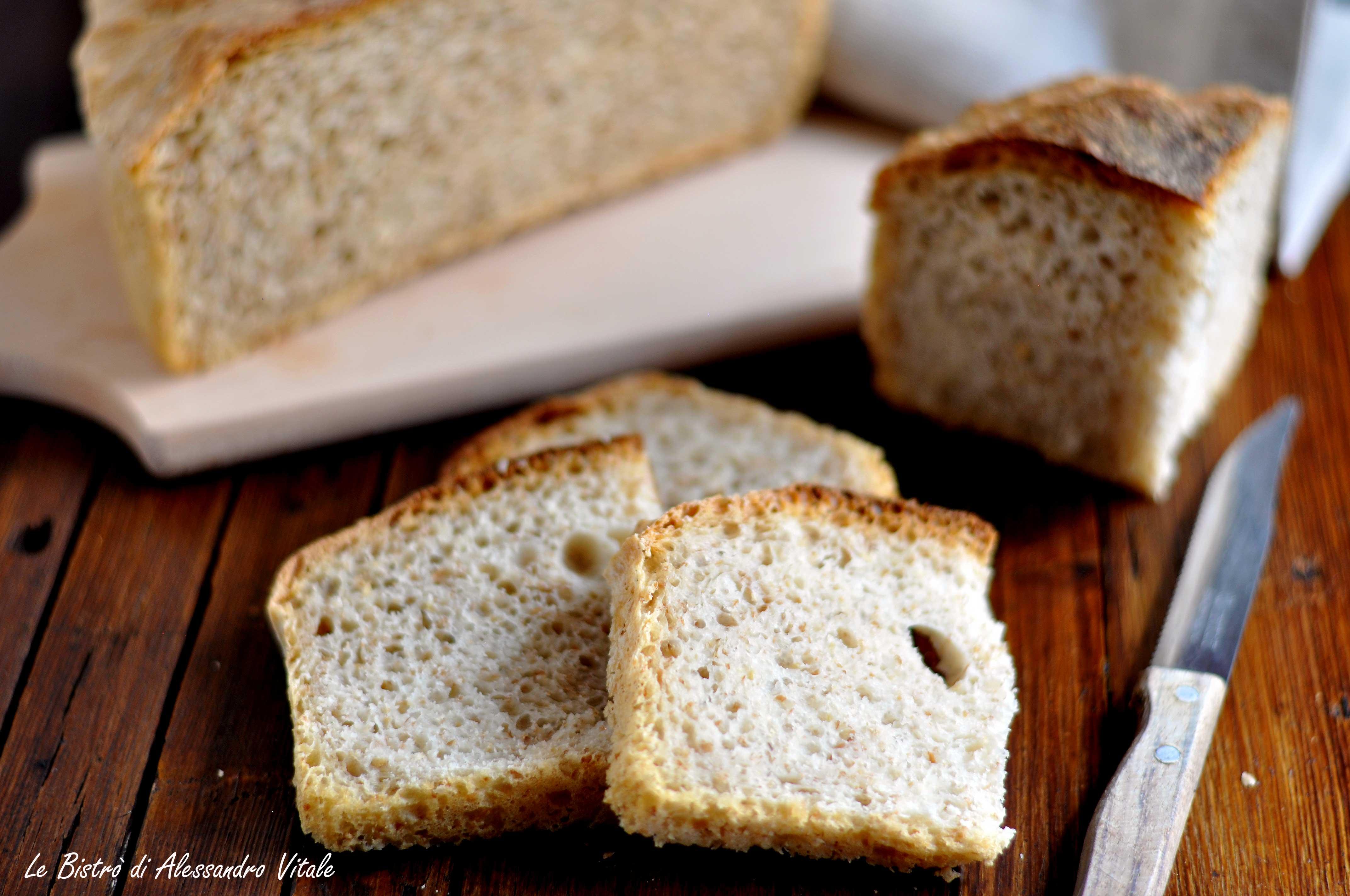 Pane integrale con le patate
