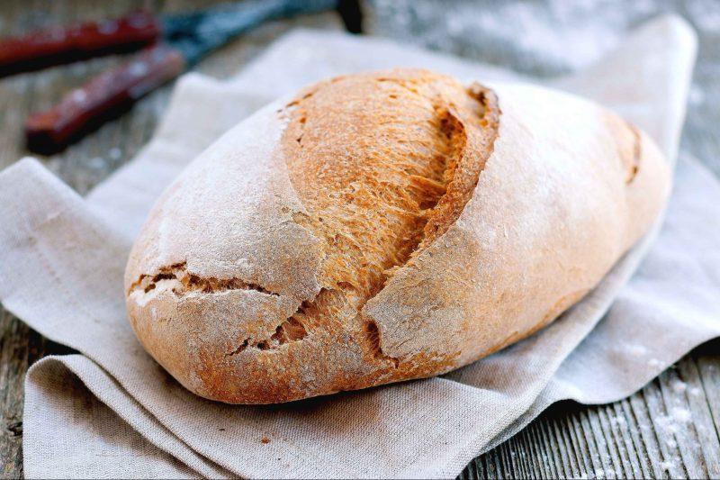 Filone di pane fatto in casa