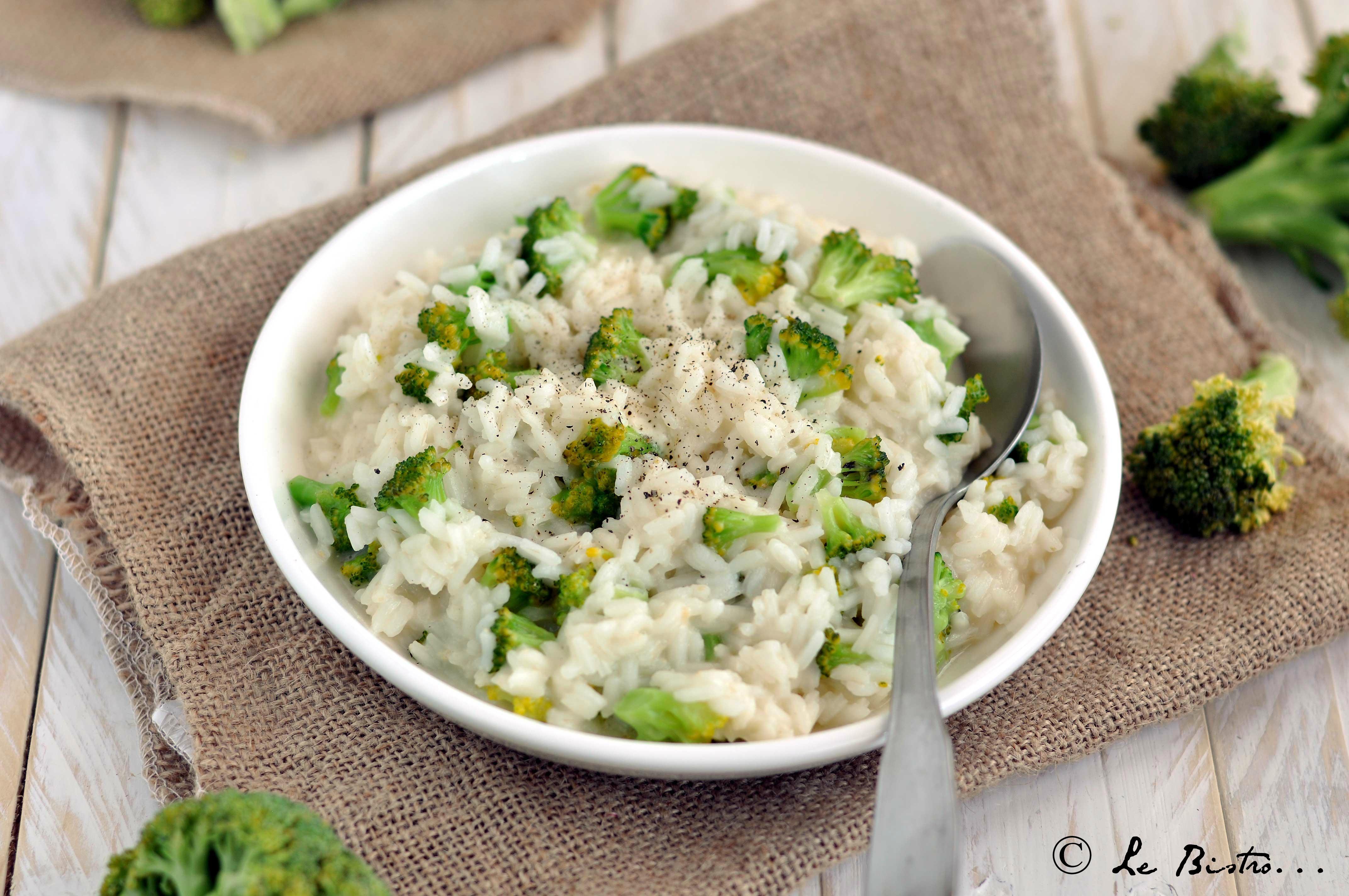 Risotto cremoso al broccolo calabrese