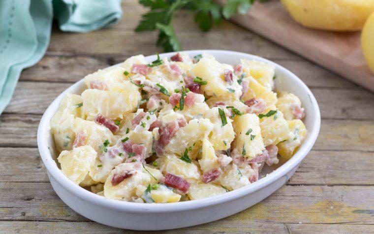 Insalata di patate e speck