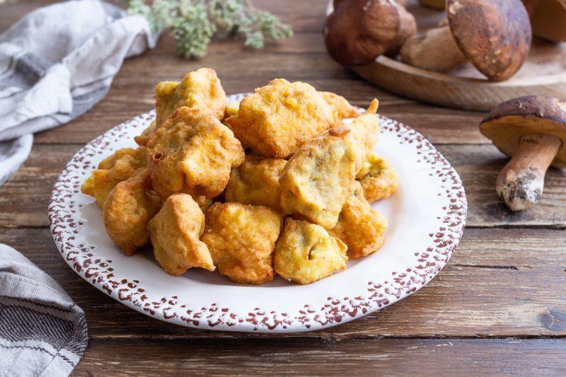 Funghi porcini fritti