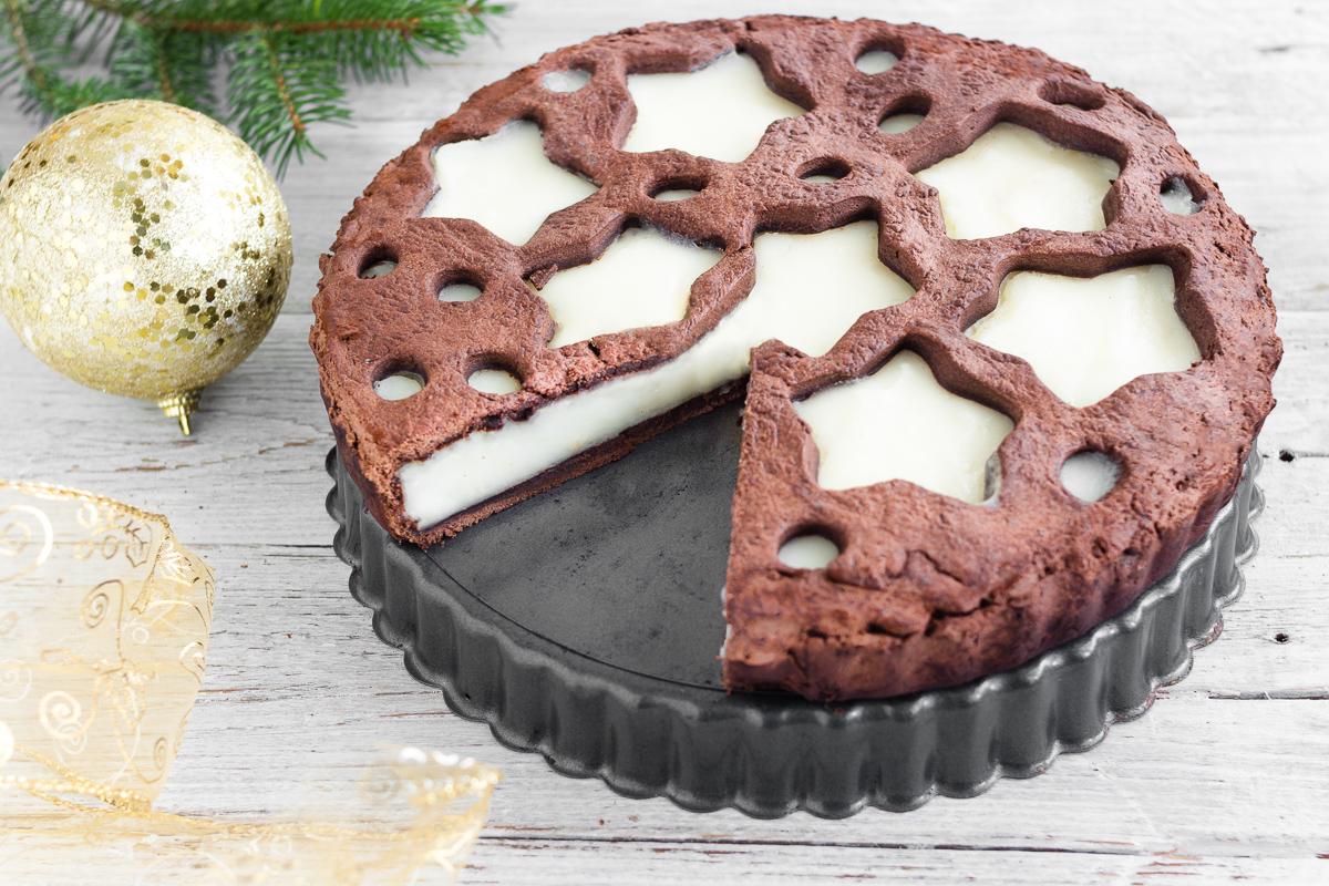 Crostata al Cioccolato e Crema di Latte
