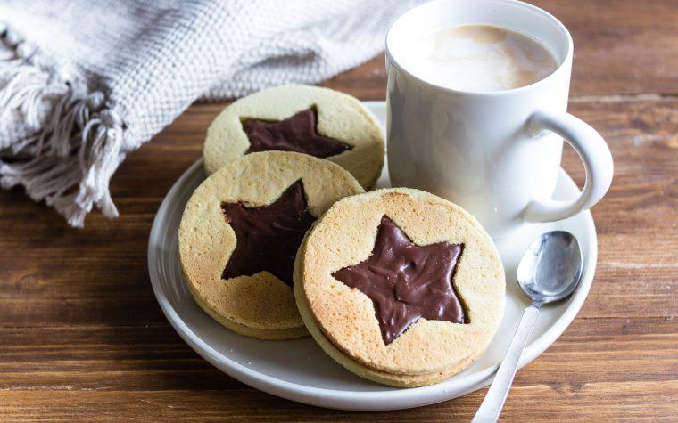 Biscotti natalizi al cioccolato