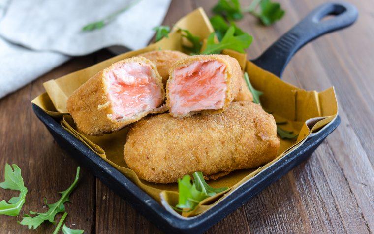 Bocconcini di salmone