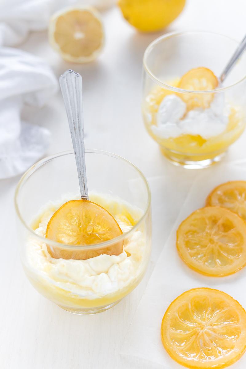Salsa al limone liquida